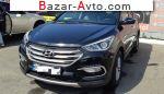 автобазар украины - Продажа 2017 г.в.  Hyundai Santa Fe 2.4 GDi АT AWD (188 л.с.)