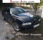 автобазар украины - Продажа 2001 г.в.  BMW 5 Series 525d AT (163 л.с.)