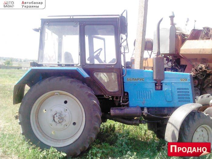 Трактор МТЗ-82.1 Беларус, Б/У, 2012 г.в.   Трактора МТЗ БУ.