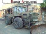 1990 Трактор Т-150К Полковая землеройная машина ПЗМ 2 на базе трактора Т 150 конверсионная