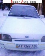 1987 Ford Escort   автобазар