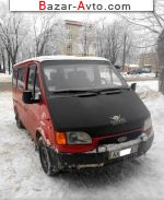 1992 Ford Transit пассажир 8+1  автобазар