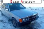 1987 Mercedes Exclusive 190 200д 5-ступка  автобазар