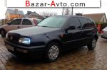 1995 Volkswagen Golf 3  автобазар