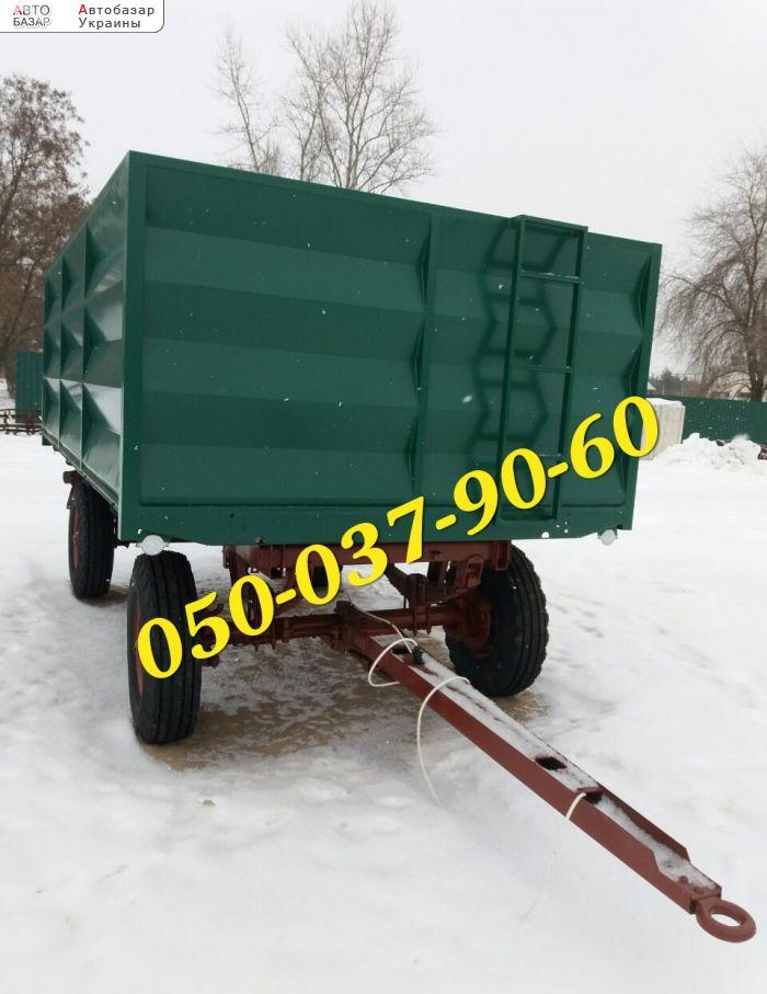 автобазар украины - Продажа    Тракторный Птс-4 прицеп после кап ремонта,резина и