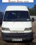 2001 Peugeot Boxer   автобазар