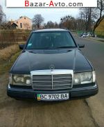 1992 Mercedes HSE w124  автобазар