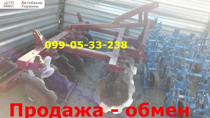 автобазар украины - Продажа 2017 г.в.  Трактор МТЗ Пд-2, 5 б/у плуг дисков Велес-