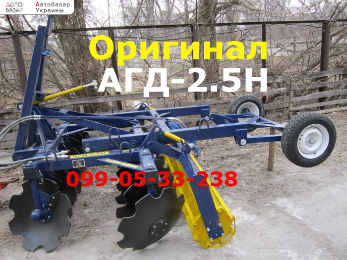 автобазар украины - Продажа    Заводская дисковая борона АГД