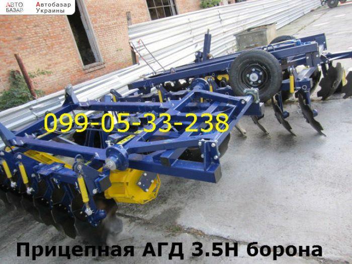автобазар украины - Продажа 2017 г.в.  Трактор МТЗ Прицепная АГД 3.5Н борона по з