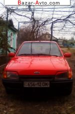 1988 Ford Escort   автобазар
