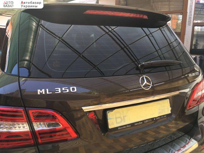 автобазар украины - Продажа 2015 г.в.  Mercedes ML ML350 Blue TEC W166