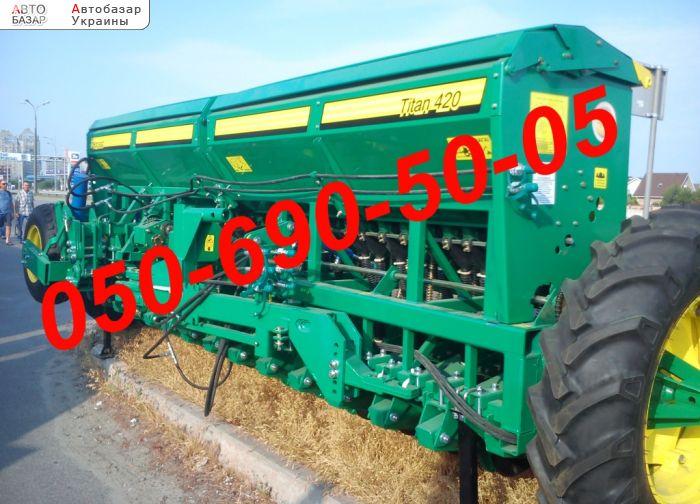 автобазар украины - Продажа    сеялки зерновые Титан-420/600