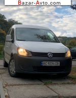 2013 Volkswagen Caddy 1.6 TDI MT L1 (75 л.с.)  автобазар