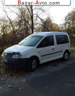 2007 Volkswagen Caddy 1.4 MT (80 л.с.)  автобазар