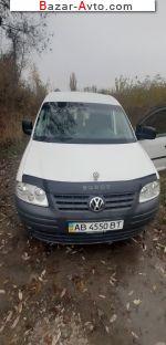 автобазар украины - Продажа 2010 г.в.  Volkswagen Caddy 1.9 TDI MT (105 л.с.)