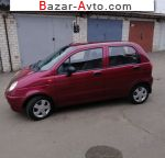 Daewoo Matiz 0.8 AT (52 л.с.) 2008, 3200 $