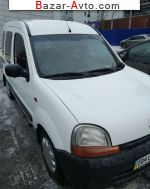 автобазар украины - Продажа 2002 г.в.  Renault Kangoo 1.9 dTi MT (80 л.с.)